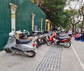 Quận Hoàn Kiếm xóa nhiều điểm giữ xe vỉa hè trái phép
