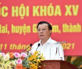 Bí thư Hà Nội cam kết với cử tri về chống dịch COVID-19