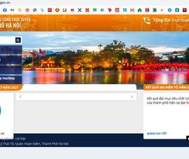 Cổng dịch vụ công trực tuyến của Hà Nội lại bị lỗi