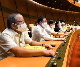 Quốc hội thông qua Nghị quyết cơ cấu, số lượng thành viên Chính phủ