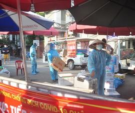 Lập tổ cung ứng lương thực cho 2,3 vạn dân phường Chương Dương bị cách ly