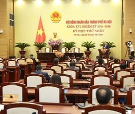 HĐND TP Hà Nội lùi kỳ họp thứ 2 đến cuối tháng 8-2021
