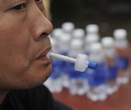 Cận cảnh thiết bị kiểm tra ma túy của CSGT