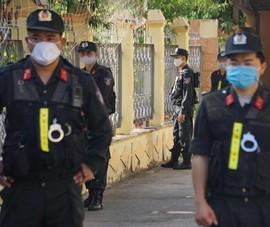 Siết an ninh phiên tòa xử vụ gian lận điểm ở Sơn La