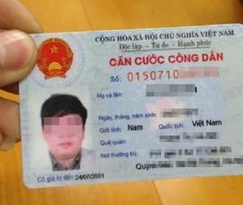 Bộ Công an lấy ý kiến mẫu thẻ căn cước gắn chíp điện tử