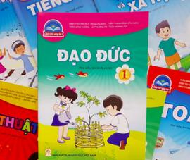 Sẽ chỉnh sửa cả 4 bộ SGK lớp 1 của NXB Giáo dục Việt Nam