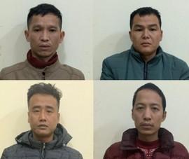 9 người Trung Quốc vượt biên, bị phát hiện trốn vào rừng