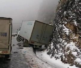 Cục CSGT: Nên ngừng lưu thông nếu đường đóng băng vì thời tiết