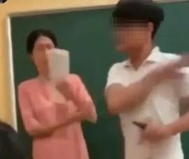 Thông tin chính thức vụ 'học sinh tát giáo viên'