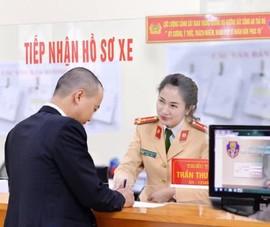 Người dân 4 quận ở Hà Nội thay đổi nơi đăng ký xe