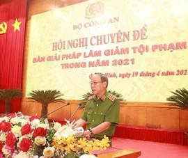 Bộ Công an và công an 26 tỉnh họp về phòng, chống tội phạm