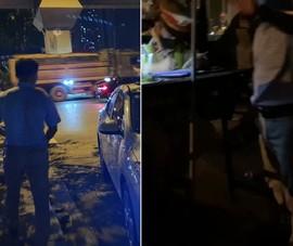 Bị CSGT phạt nồng độ cồn, tài xế còn đòi đánh nhau