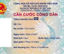 Bộ Công an đề xuất phạt tới 6 triệu đồng nếu cầm cố thẻ CCCD
