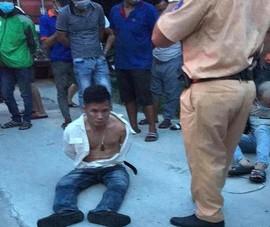 Truy đuổi tài xế 'ngáo đá' suốt 30km, 1 chiến sỹ CSGT bị thương