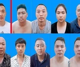 Bộ Công an triệt phá ổ nhóm tín dụng đen cộm cán do Trung 'trọc' cầm đầu