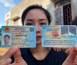 Dự kiến đến tháng 11-2021, sẽ trả toàn bộ thẻ CCCD cho người dân