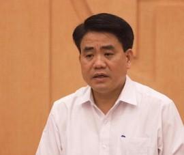 Công an nhận định ông Nguyễn Đức Chung 'đùn đẩy cho cấp dưới'