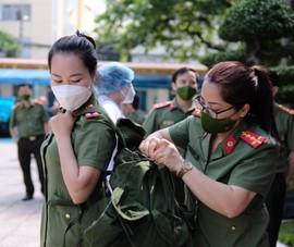 2 bệnh viện hạng I của Bộ Công an chi viện các tỉnh phía Nam chống dịch