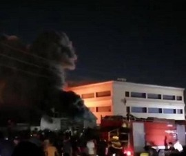 Iraq: Thêm 1 vụ cháy khu điều trị COVID-19, ít nhất 42 người chết