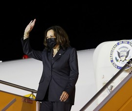 Lịch trình của Phó Tổng thống Mỹ Harris trước khi kết thúc chuyến thăm Việt Nam