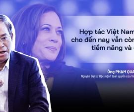 Chuyên gia giải mã nội hàm chuyến thăm Việt Nam của bà Harris