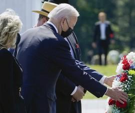 Ông Biden trực tiếp thăm ba đài tưởng niệm vụ khủng bố ngày 11-9 năm 2001