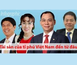 Tài sản của tỉ phú Việt Nam đến từ đâu?