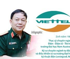 Thiếu tướng Lê Đăng Dũng nhận trọng trách lãnh đạo Viettel