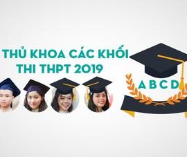 Điểm khác nhau của 4 thủ khoa các khối thi THPT quốc gia 2019