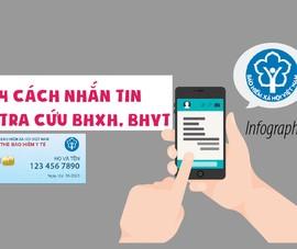 Bốn cách nhắn tin tra cứu BHXH, BHYT