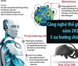 Công nghệ thế giới 2020: 5 xu hướng chính
