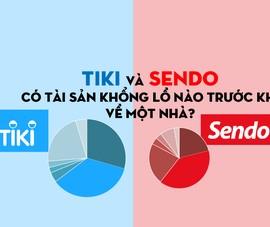 Tiki và Sendo có tài sản khổng lồ nào trước khi về một nhà?