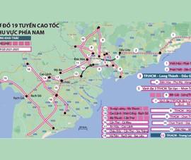 Interactive: Thông tin 19 tuyến cao tốc khu vực phía Nam