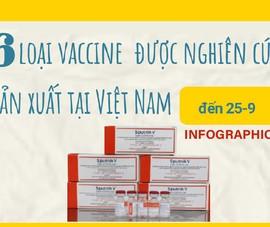 6 loại vaccine COVID-19 đang được Việt Nam nghiên cứu, nhượng quyền sản xuất