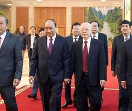 Tổng bí thư, Chủ tịch nước: 'Nhiều vụ còn đang làm tiếp'