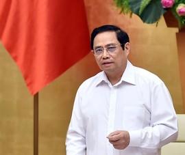 Thủ tướng yêu cầu quan tâm về vật chất, tinh thần đến tuyến đầu chống dịch