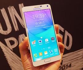 Mua Galaxy Note 4 trả góp 0 đồng, quà 500.000 đồng