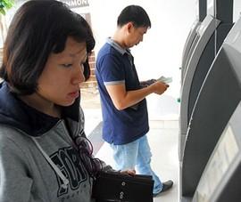 Phạt ngân hàng nếu để ATM hết tiền