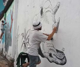 Thay áo mới cho những bức tường ở Sài Gòn
