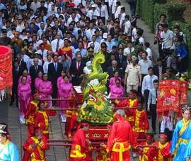 Hàng triệu người dân dự lễ giỗ tổ Hùng Vương