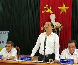 Chủ tịch Quảng Nam đối thoại với người dân đòi giấy đỏ