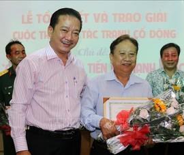 Tác giả Lê Việt Hồng đạt giải Nhất cuộc thi tranh cổ động