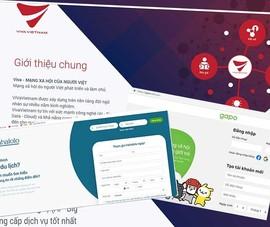 Rầm rộ trình làng mạng xã hội Việt