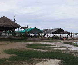Cấm kinh doanh phao, dù, ghế bố dưới biển Long Hải