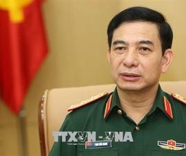 Thượng tướng Phan Văn Giang thăm chính thức Campuchia
