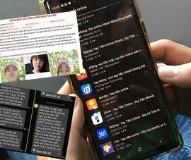 Vay qua app: Bị khủng bố bất kể ngày đêm