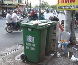 'Mỗi ngã tư cần đặt một thùng rác thông minh'