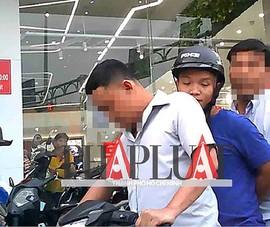 Công an trả xe cho sinh viên bị cưỡng đoạt ở Bình Thạnh