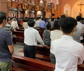 Tạm ngưng cử hành thánh lễ ở TP.HCM