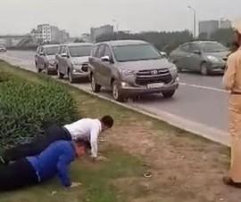 CSGT cho người không đeo khẩu trang hít đất: Sai